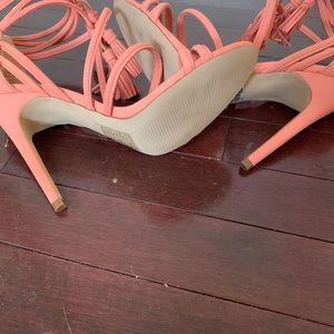 Aldo Shoes - Aldo Carina Blush Tassel Stilettos